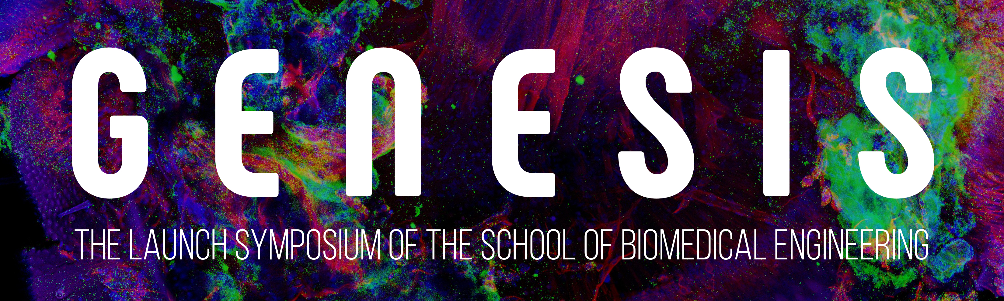 Genesis: The launch symposium of the School of Biomedical Engineering